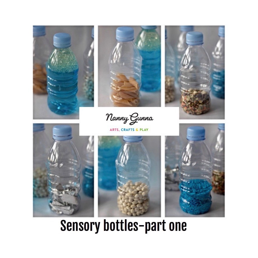 Sensory Bottles Part One Nanny Gunna