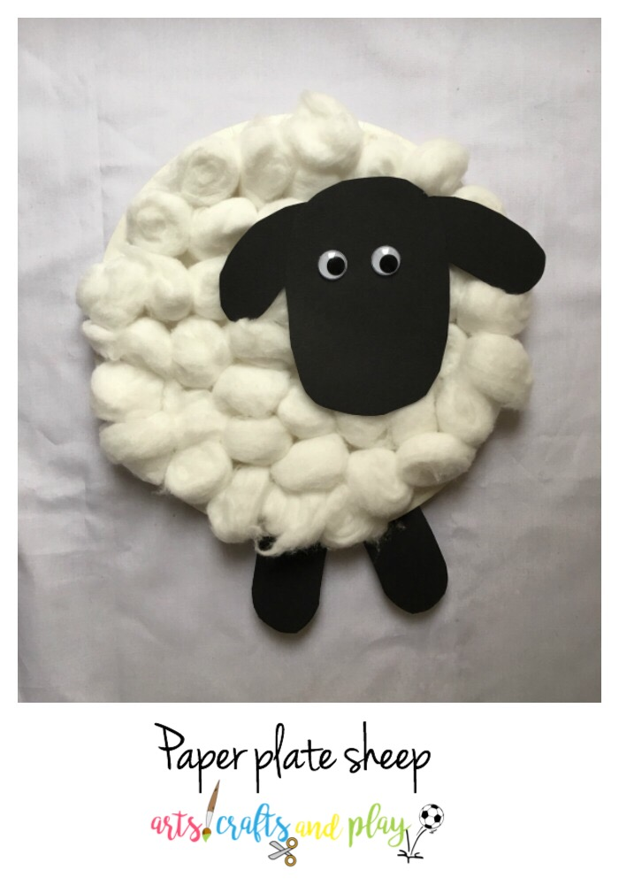 Paper Plate Sheep Arts Crafts And Play