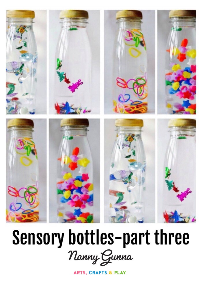Sensory Bottles Part Three Nanny Gunna