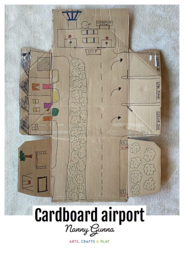 Cardboard Airport Nanny Gunna